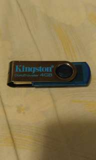 KINGSTON 4GB USB2.0 手指