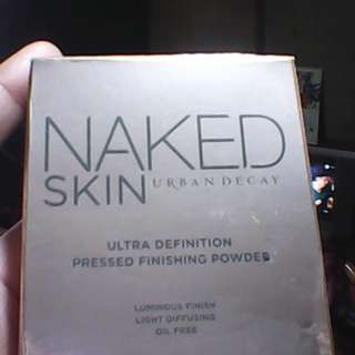FREE SHIPPING!! URBAN DECAY NAKED ULTRA DEFINITION PRESSED FINISHING POWDER
