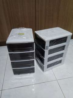 Toyogo 4 Tier Small Drawer