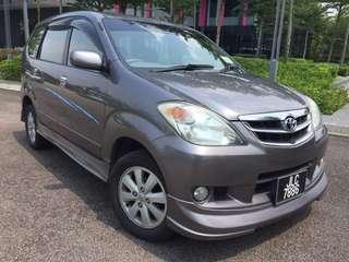 Toyota  avanza  1.5 G 2008