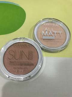 BRONZER AND POWDER