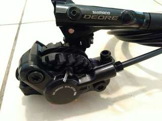 *Promotion* Shimano Deore M6000 Brakeset + Finned Brake Pads + Mounts Adapters