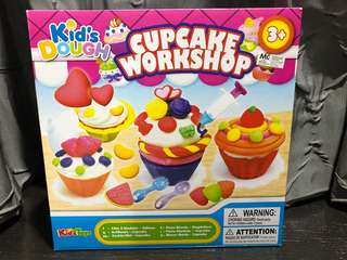 Kid's Dough Cupcake Workshop