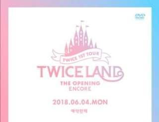 Twiceland encore member photocard