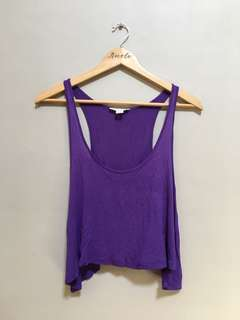 F21 Cropped Top • M
