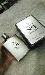 *authentic* AIGNER NO.1 PLATINUM 100ml Edt