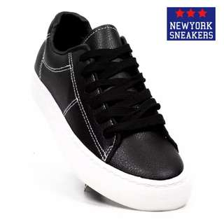 New York Sneakers Lillian Low Cut Shoes(KW2233-BLACK)