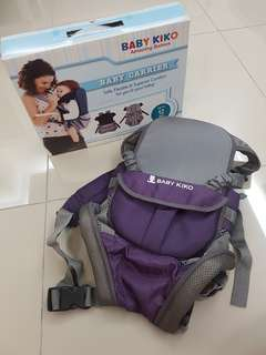Baby kiko 6 in 1 pos carrier (purple)