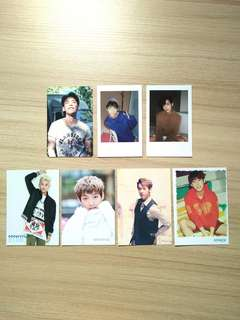 btob minhyuk official photocard