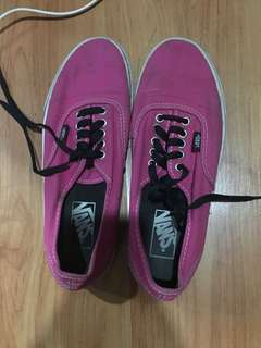Authentic vans (pink)