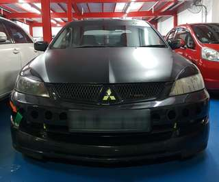 Modified Manual Mitsubishi Lancer for Rent