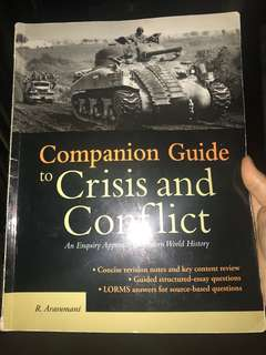 Companion Guide to Crisis and Conflict
