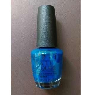OPI Nail Polish Blue
