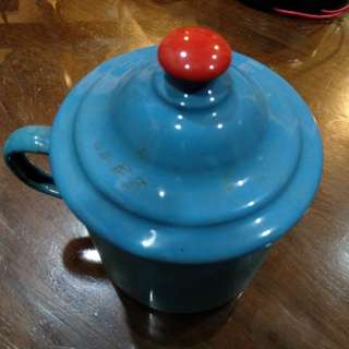 Vintage Enamelware mug