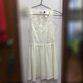 H&M Lace White Dress