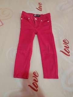 Pink Jeans Levis