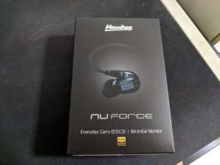 MassDrop X Nuforce EDC 3 Triple Drivers IEM