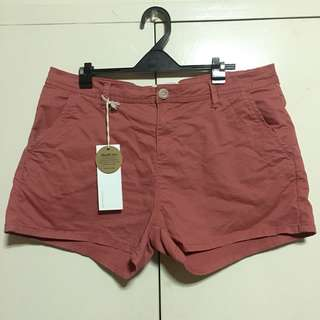 Cotton On Salmon Pink Shorts US 10/L-XL