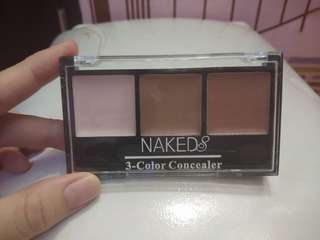 Concealer highlighter eyeshadow naked concealar makeup stuff