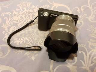 SONY NEX5 黑色 類單眼相機 已過保固功能正常