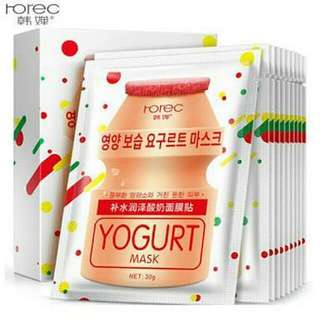 Masker Rorec Yogurt