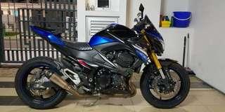 Kawasaki Z800 2016 abs JT/piang bank