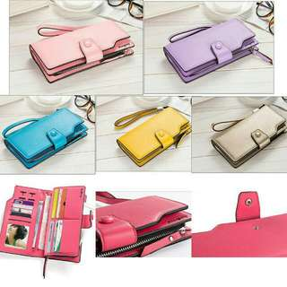 Pre-order Items BAELLERRY MULTI FUNCTION BUCKLE LONG PURSE