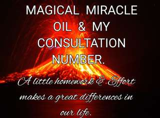 CUSTOMER'S REVIEWS AND THE MIRACLE OUT FROM MY CONSULTATION NUMBER N THE MAGICAL MIRACLE OIL. Satisfied ONCOMING CUSTOMER'S 👌👍