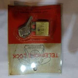 Vintage Telephone  lock