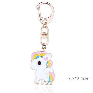 Unicorn Keychain for gift / birthday goodie bag gift