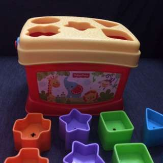 Fisher Price Shape Sorter Toy