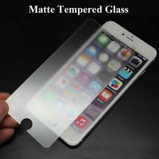 iPhone Matte Tempered Glass