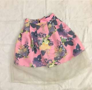 Mgs floral skirt