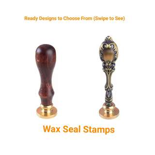 🚚 Choose from Logo Wax Seal Stamp Individual Company Logo Wedding Invite