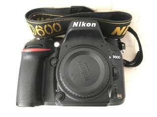 D600 & 50mm