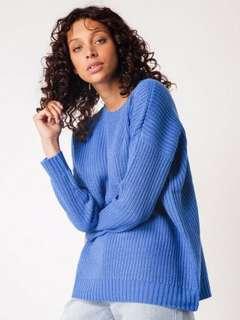 Beyond Her royal blue jumper
