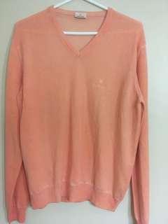Authentic ROLEX peach Cashmere top
