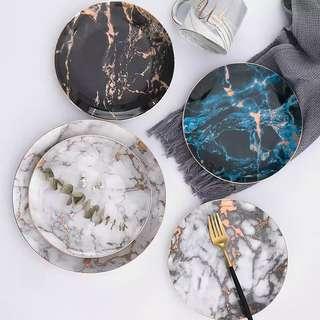 Luxury Marble Porcelain Dinnerware Set