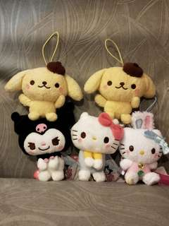 Sanrio Characters 3 for $18