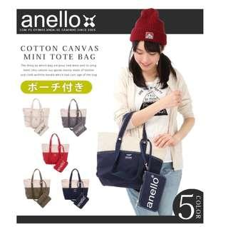 [Re-Stock] Japan Anello Tote Shoulder Bag~ Original 100% Authentic ☆New Release ☆AU-B2543