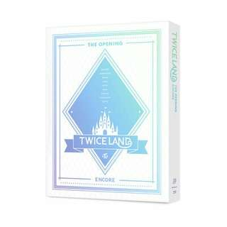[PREORDER] TWICE - TWICELAND The Opening Encore Blu-ray