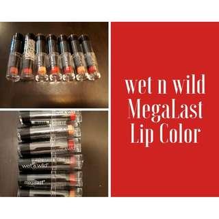 Wet 'n Wild MegaLast Lip Color