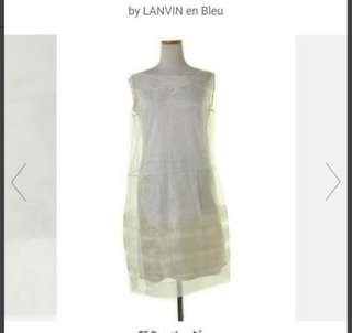 100% new LANVIN en Bleu