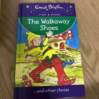Enid Blyton Books The Walkaway Shoes
