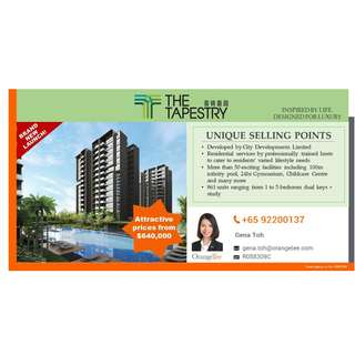 Most Affordable Condo - The Tapestry