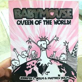 CHILDREN'S BOOK 1 (BABYMOUSE QUEEN OF THE WORLD)