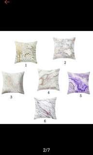 45cm*45cm Marble Cushion Cover