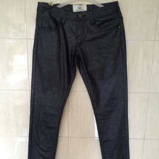 Celana kulit leather pants
