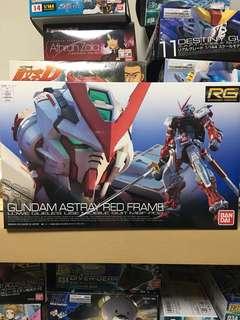 Readystock - rg gundam astray red frame