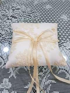 Wedding display, ring pillow